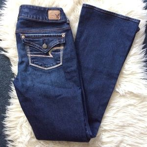 American eagle artist bootcut flare jeans size 2
